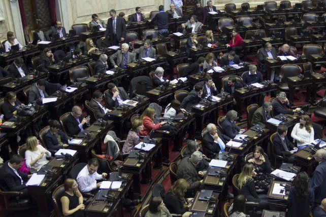 La ley antidespidos se trata hoy en la Cámara de Diputados de la Nación.