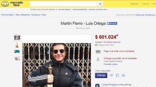 El anuncio en MercadoLibre.com.