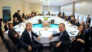 A pleno. Frigerio se reunió con todos los gobernadores en Córdoba.