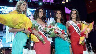 Las ganadoras del certamen femenino