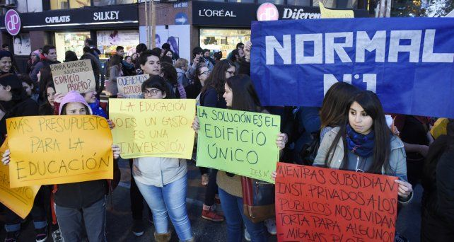 Rosario tendrá su marcha de estudiantes en defensa de la educación pública el jueves 26