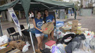 El Movimiento Solidario Rosario ayuda a los más necesitados.