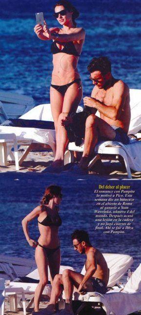 Pampita se volvió loca al enterarse que publicaron sus fotos con Mónaco sin retoques