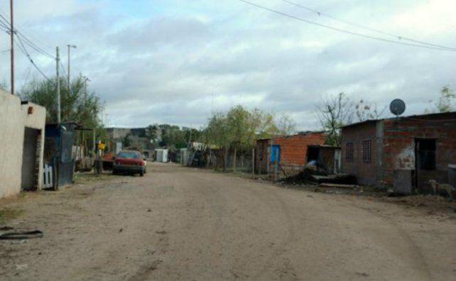 Barrio humilde. Los hechos ocurrieron en Maipú y La Ribera