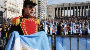 En junio será la formación organizada desde el Monumento a la Bandera.