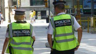Policía. Sueldos de 30.000 pesos.