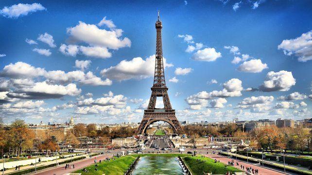 La icónica Torre Eiffel