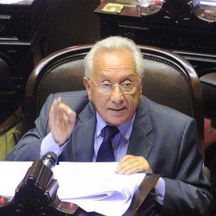 Héctor Recalde, presidente del bloque de diputados derl Frente para la Victoria.