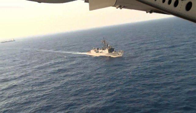 Los primeros restos del avión fueron encontrados por fuerzas armadas egipcias.