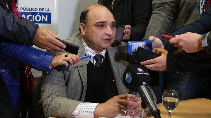 Los diputados provinciales Leandro Busatto