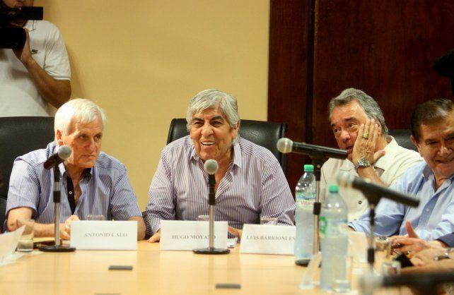 Los popes sindicales buscan cómo posicionarse frente al gobierno de Mauricio Macri.