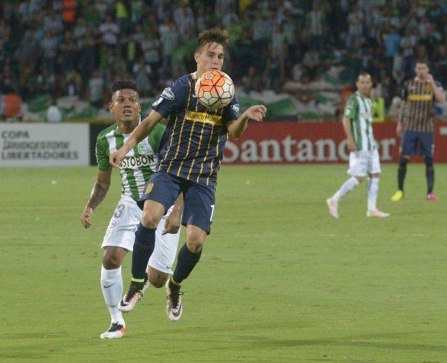 La despedida. Cervi no tuvo un buen partido en Colombia. Se va a Portugal.