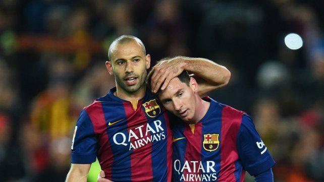 Javier y Leo. Los dos son referentes e intocables en Barcelona