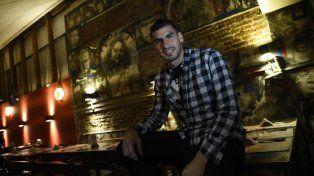 En Rosario. El Patón estuvo en la ciudad antes de sumarse al plantel de la selección nacional