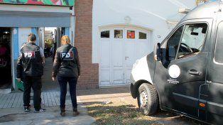 La PDI secuestró las armas en un operativo desarrollado en la ciudad de Santa Fe.