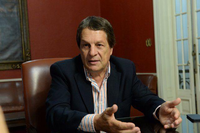 impulsor. Norberto Nicotra instaló en la Legislatura santafesina el debate sobre la obligatoriedad de las Paso.