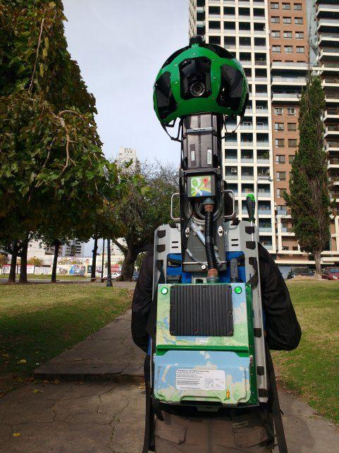 el futuro ya llegó. Los exploradores de Google regresaron a Rosario.