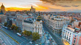 Los universitarios fueron estafados en Madrid.