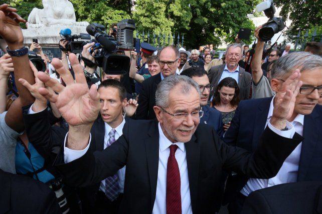 Varios líderes europeos se mostraron aliviados con el triunfo de Van der Bellen.