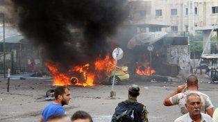 Devastación. Las bombas del EI golpearon a la ciudad costera de Tartús.