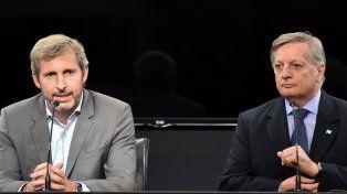 Anuncios. Los ministros Frigerio y Aranguren se reunieron con los gobernadores para tratar el tarifazo del gas.