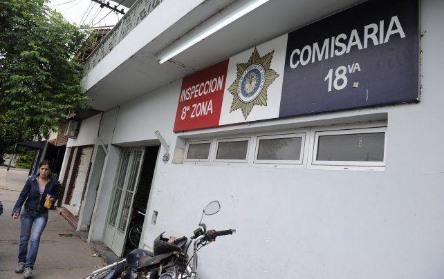 El falso policía quedó alojado en la seccional 18ª.