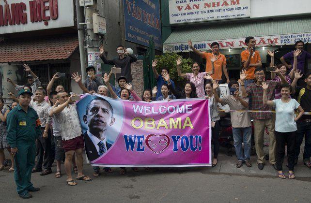 Viejos enemigos. Cálida bienvenida en Ho Chi Minh (ex Saigón).