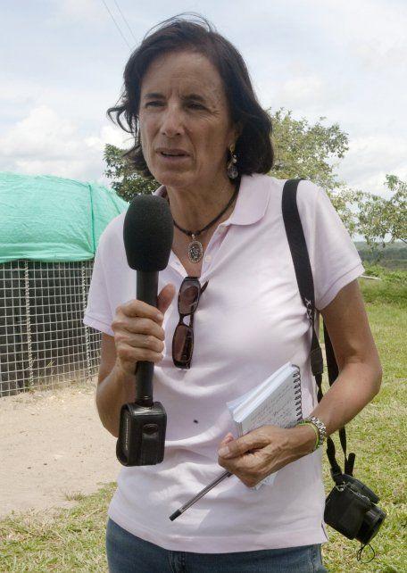 La periodista Salud Hernández.