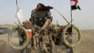 Cruzada. Tropas iraquíes lanzan un operativo en Faluya