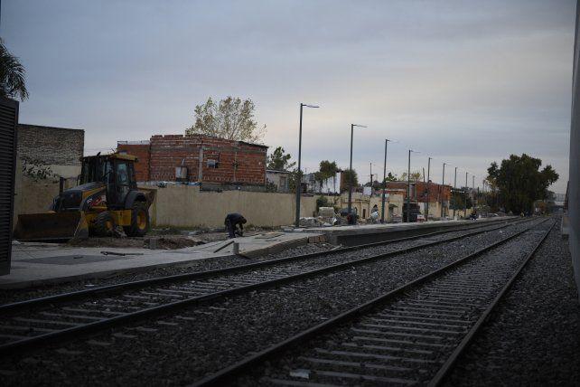 La estación Rosario Sur