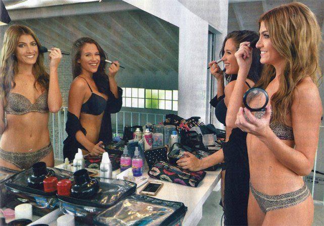 La producción sexy de Barbi Vélez y Cande Ruggeri, juntitas, sensuales  y con poca ropa
