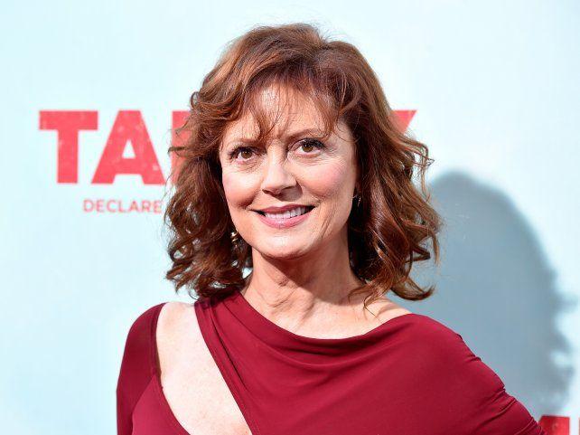 Susan Sarandon hizo polémicas declaraciones en su paso por el festival de Cannes.