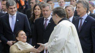 Marcos Peña dijo que el gobierno comparte el cien por ciento de lo dicho por arzobispo Poli