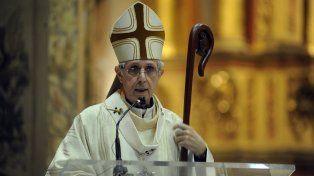 El cardenal Poli rogó a Dios para que las promesas no defrauden a la gente