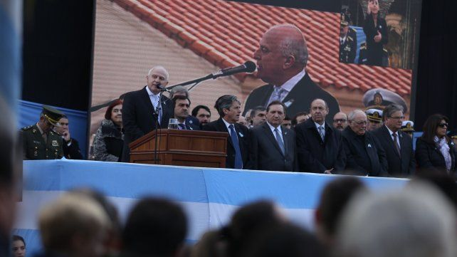 El gobernador Miguel Lifschitz dijo que es tiempo de recuperar un proyecto colectivo que sea la razón de nuestras vidas.