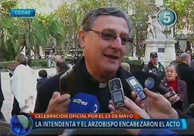 El arzobispo de Rosario