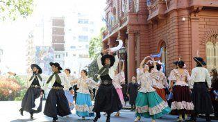 Danza patriótica. El pericón nacional