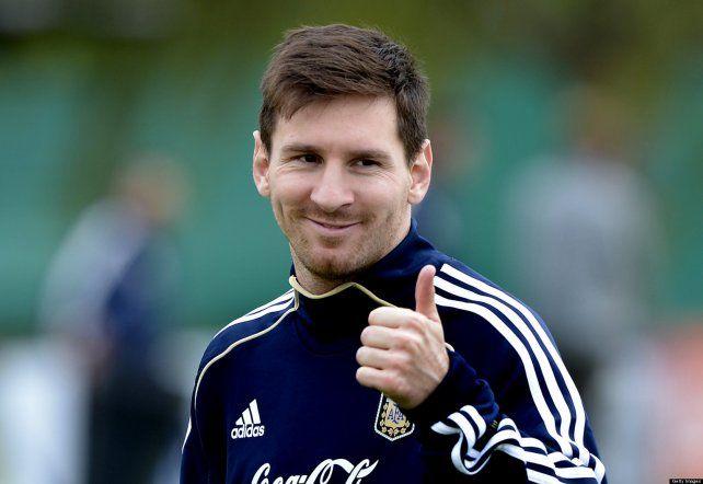 Lionel Messi sigue ilusionando a los hinchas de Newells
