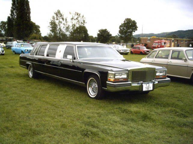 Una de las limusinas Trump que se fabricaron en 1988.