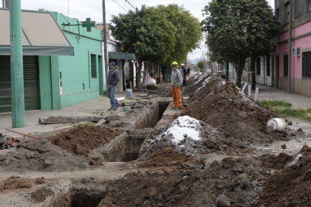 mejor calidad de vida. En los últimos seis años en la ciudad ya se instalaron cloacas en 31 barrios