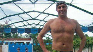 el turco. Marcelo Abram era nadador y periodista de La Capital.
