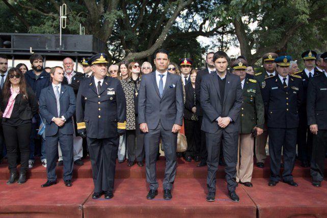 Funes celebró un nuevo aniversario de la Revolución de Mayo con un acto encabezado por el intendente