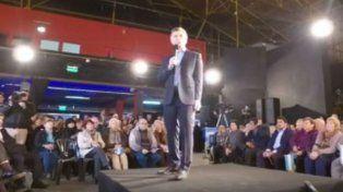 Mauricio Macri hizo anuncios ante jubilados en San Cristobal.