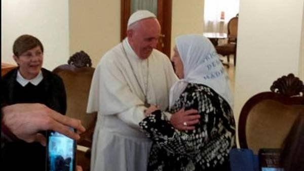 El Papa Francisco recibió hoy al presidente de Madres de Plaza de Mayo