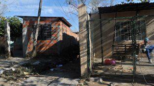 La zona donde fue encontrada la menor sin vida y con signos de haber sido golpeada y abusada.