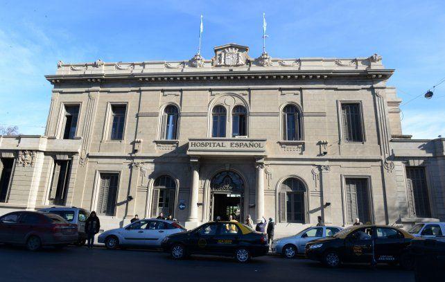 La pequeña continúa internada en el Hospital Español de Rosario. (Foto de archivo)
