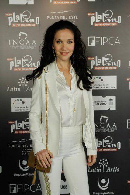 Radiante. Natalia Oreiro conducirá la ceremonia que se dará por TNT.