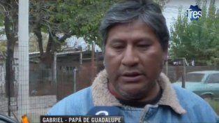 Con dolor. Gabriel Medina es el padre de Guadalupe y sólo pide justicia.