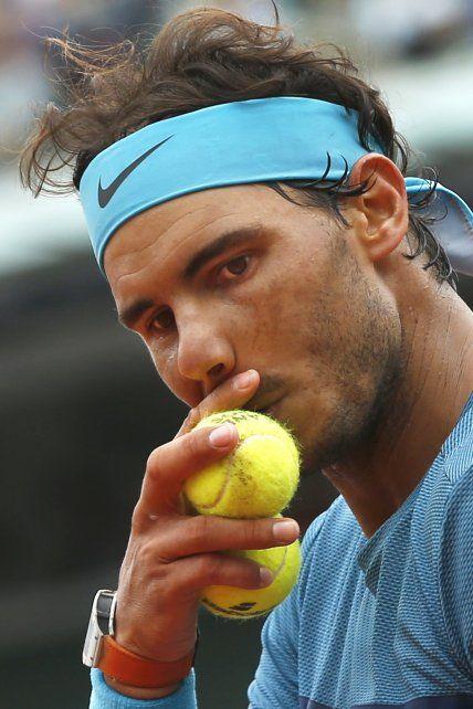 El rey del polvo de ladrillo dejó el Grand Slam por lesión.