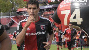Cáceres jugó cuatro años en Newells.